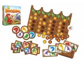 Dinogang společenská hra v krabici skladem