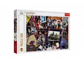Puzzle Harry Potter/Bradavické vzpomínky 500 dílků 48x34cm v krabici 40x27x4cm