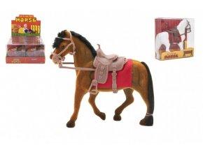 Kůň fliška se sedlem 18cm 3 barvy v krabičce 16x16,5x5,5cm (1 ks)