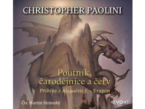 Poutník, čarodějnice a červ (audiokniha pro děti) - Christopher Paolini