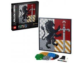 LEGO Art Harry Potter™ Erby bradavických kolejí