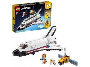 LEGO Creator Vesmírné dobrodružství s raketoplánem