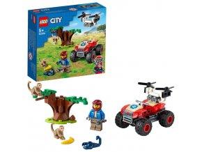 LEGO City Záchranářská čtyřkolka do divočiny