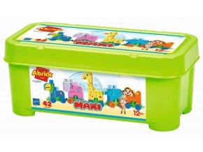 Abrick Maxi Vláček Zoo, box