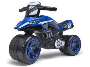 Odrážedlo motorka Falk racing team modré