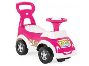Odrážedlo autíčko pro nejmenší růžové