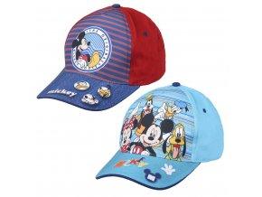 Kšiltovka Mickey světle modrá/džínová