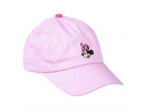 Kšiltovka Minnie Premium růžová