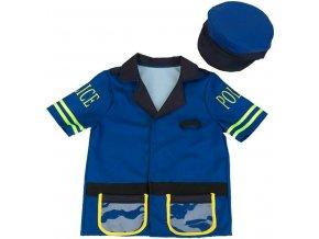 Kostým policajta s čepicí