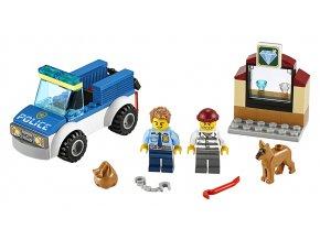 LEGO City Jednotka s policejním psem