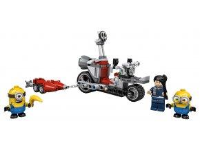 LEGO Mimoni Divoká honička na motorce