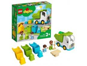 LEGO Duplo Popelářský vůz a recyklování