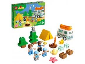 LEGO Duplo Dobrodružství vrodinném karavanu
