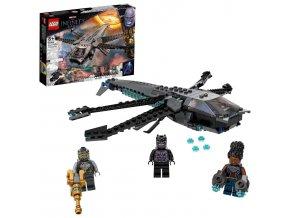 LEGO Super Heroes Black Panther adračí letoun