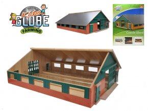 Farma dřevěná 73x60x26cm 1:32