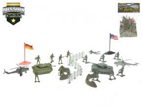 Sada vojáci s mapou 2vojska