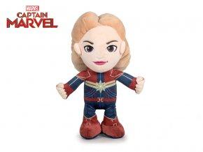 Avengers Captain Marvel plyš 30cm stojící 0m+