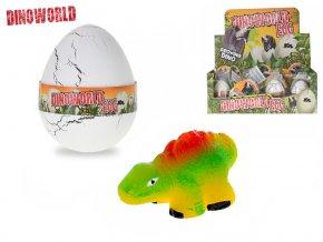 Dinosaurus líhnoucí a rostoucí ve vajíčku