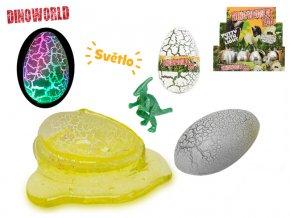 Hmota dinosauří vejce 9cm na baterie