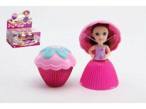 Panenka/Cupcake mini plast 8cm vonící asst 12 druhů v krabičce 24ks v boxu 2. série
