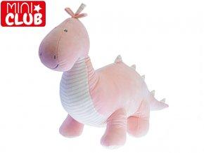 Dinosaurus plyšový 50cm růžový 0m+