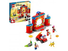 LEGO Disney Hasičská stanice aauto Mickeyho apřátel