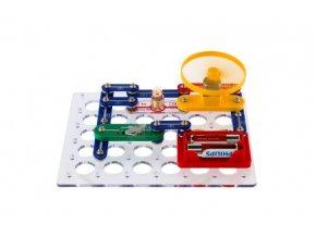 Tajemství elektroniky - Rádio 80 experimentů na baterie v krabici 30x24,5x3,5cm od 6 let