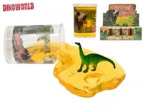Sliz 7,5cm s dinosaurem-skladem