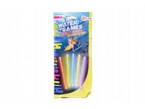 Tyčinky svítící do vody plast 15cm v sáčku