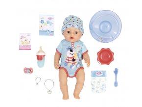 BABY born s kouzelným dudlíkem, chlapeček, 43 cm