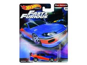 Hot Wheels prémiové auto – rychle a zběsile