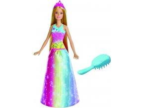 Barbie magické vlasy princezna blondýnka