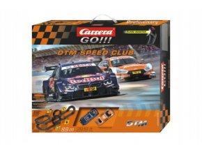 Autodráha Carrera GO!!! 62448 DTM Speed Club 8,9m v krabici 60x50x11cm