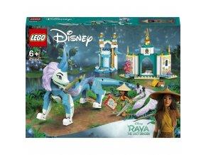 LEGO® Disney™ 43184 Raya a drak Sisu