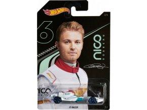 Hot Wheels Angličák Nico Rosberg