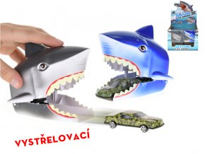 Auto 7cm kov volný chod vystřelovací ze žraločí hlavy skladem
