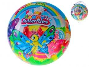 Míč 20cm motýlci 10m+