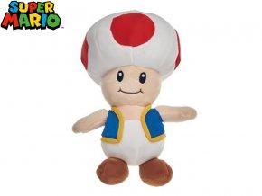 Super Mario - Toad 32cm plyšový 0m+