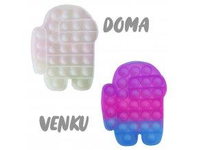 pop it menici barvu among us doma venku slunicko