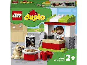 LEGO® DUPLO 10927 Stánek s pizzou