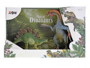 Dinosaurus 20cm 2ks skladem