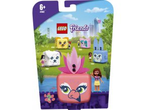 LEGO® Friends 41662 Olivia a její plameňákový boxí