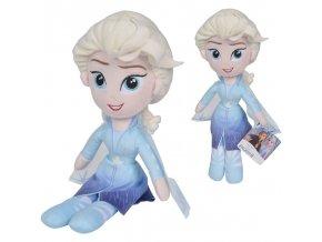 Plyšová panenka Elsa Ledové království 25 cm