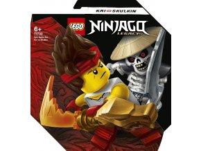 LEGO® Ninjago 71730 Epický souboj – Kai vs. Skulki