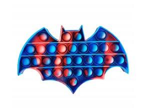 pop it netopyr batman modro cerveny