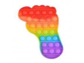 pop it duhova noha rainbow