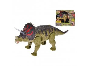 dinosaurus triceratops na baterie