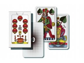 Mariáš jednohlavý společenská hra karty skladem