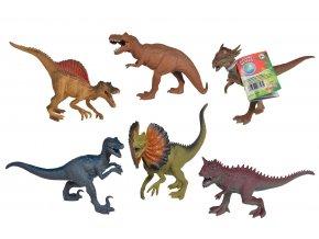 Gumový dinosaurus 17-22cm skladem