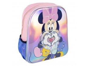 Dětský batůžek 3D s konfetami Disney Minnie